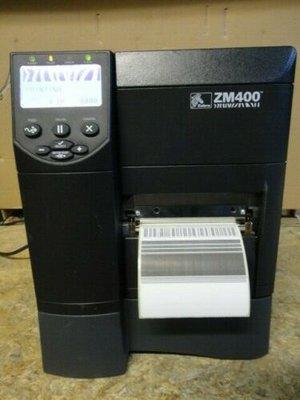 Zebra ZM400 * Thermische  Label Printer 300DPI + Netwerk