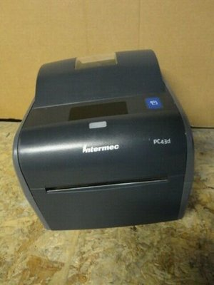 INTERMEC EASYCODER PC43D  Netwerk + USB *  Thermische Label Printer