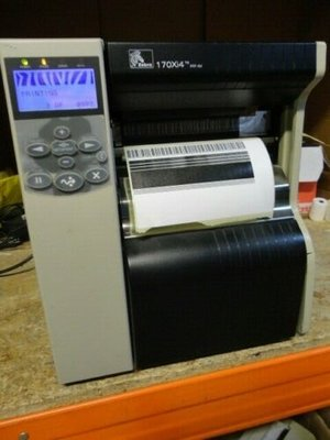 Zebra 170Xi 4 - 300dpi Thermische Barcode Label Printer USB + Netwerk