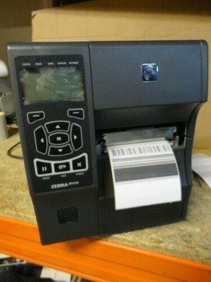 Zebra ZT410 Thermische Label Printer LAN + USB  203Dpi