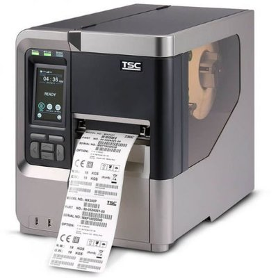 TSC MX340P Thermisch Transfer Label Printer USB + Netwerk 300DPI