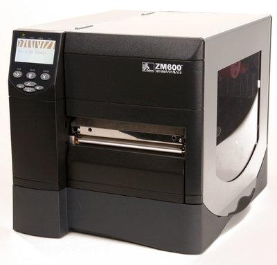 Zebra ZM600 * Thermische Label Printer Met Nieuwe 200DPI Printkop USB & Netwerk