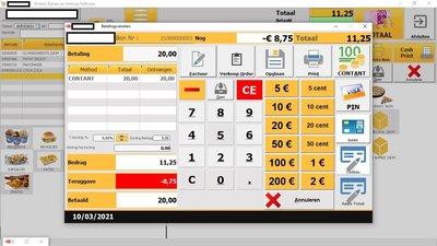 Kassa Software voor Horeca en Retail - Eenmalige kosten