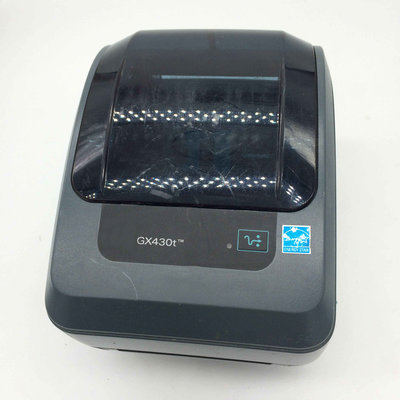 Zebra GX430t Thermisch Transfer Label 300DPI Printer USB + Netwerk