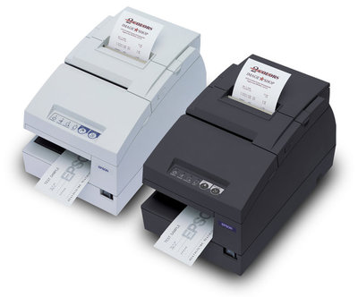 EPSON TM-H6000III POS 2 Station Printer - M147G
