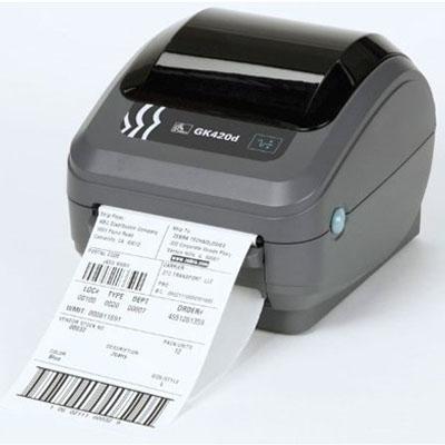 Zebra GK420d Barcode Label Printer USB