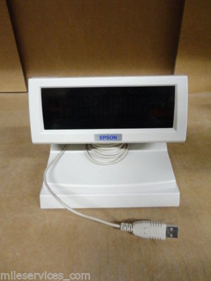 Epson DM-D110 USB Customer display Model M58DC