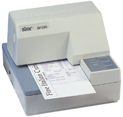 Star Sp298 Matrix Slip Bon Printer - Parallel