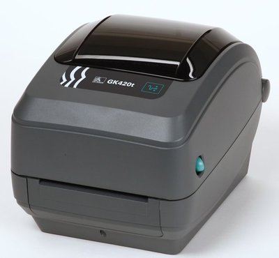 Zebra GK420t Barcode Label Printer USB + Netwerk