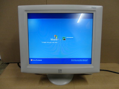 ELO ET1727L - 17 Inch Touchscreen Monitor VGA / USB / incl. Stand
