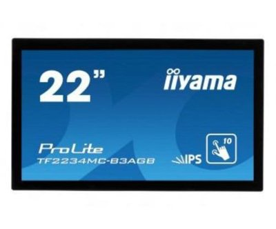 IIYAMA PROLITE TF2234MC - 22 Inch Breedbeeld Multitouch Display LCD/ USB PLC2234
