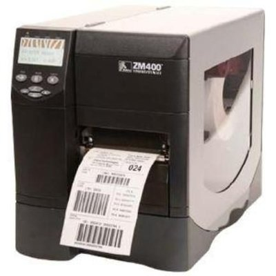 Zebra ZM400 * Thermisch Transfer Label Printer 203DPI - USB