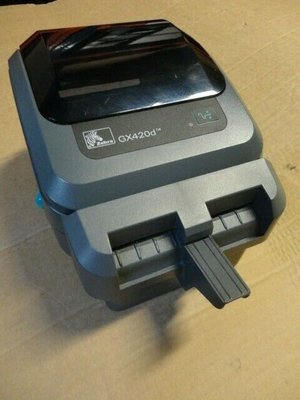 Zebra GX420d Barcode Label Printer USB + Cutter
