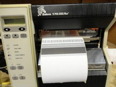 Zebra 170Xi III Plus - 300dpi Thermische Barcode Label Printer USB + Netwerk
