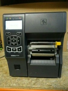 Zebra ZT410 Thermische Label Printer LAN + USB + Peel Functie 203Dpi