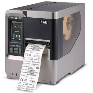TSC MX340P Thermisch Transfer Label Printer USB + Netwerk 300DPI