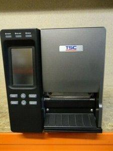TSC TTP-2410MT  Barcode Label Printer Met PEEL - USB + Netwerk 203Dpi