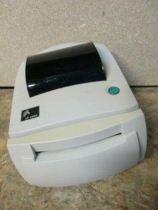 Zebra LP2844 Label printer USB + Paper Cutter