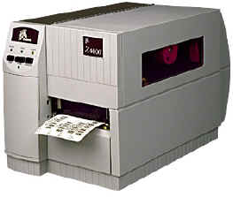 Zebra Z4000 Thermal Transfer Barcode Label Printer