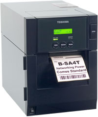 TOSHIBA TEC B-SA4TM Barcode / Label Printer