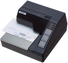 Epson TM-U295 Matrix Slip Bon Printer - M66SA Zwart - Serieel