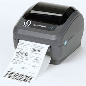 Zebra GK420d Barcode Label Printer USB + Netwerk