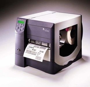 Zebra Z6M Plus * Thermal Transfer Barcode Label Printer + RJ45