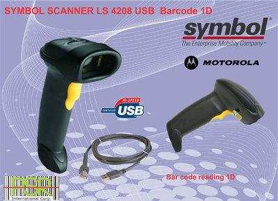 Symbol LS4208  Barcode Scanner - 1D