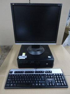 "Kassa Systeem * HP RP5700 PC + 19"" Viewsonic Monitor"