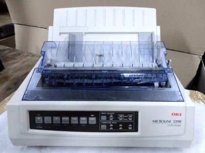 OKI Microline 3390 Matrix Printer 24 Pin - USB